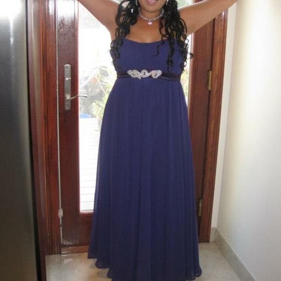Purple Prom Dress Size 12 Tag Says 14 Bridesmaid   Poshmark